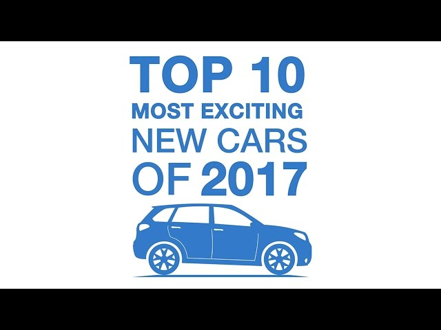 Top 10 most exciting new cars of 2017