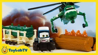 Disney Planes Fire and Rescue Toys Race to Rescue Play Pack Windlifter Maru Mash'ems Cars 2 Movie