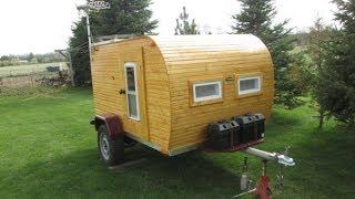 $1000 DIY Wooden Teardrop Trailer