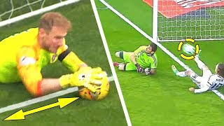 THE COOLEST SAVES IN FOOTBALL HISTORY, YOU MUST SEE THIS!