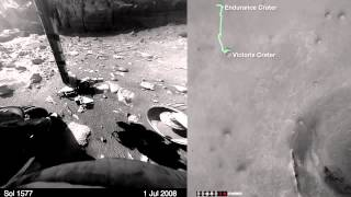 11+ Years of Mars Roving in 8 Minutes | Time-Lapse Video