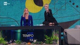 Luciana Littizzetto - Filippa, la partita Italia-Svezia e l'IKEA - Che tempo che fa 19/11/2017