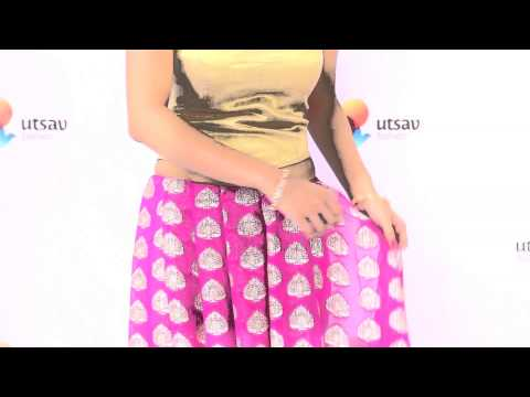 How to wear a Lehenga Style Saree in the DIY Way