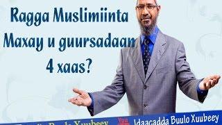 RAGGA MUSLIMIINTA MAXAY U GUURSADAAN AFAR XAAS?
