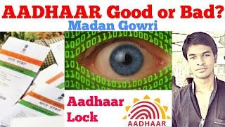 Aadhaar Good or Bad? | Tamil | Aadhar Lock | Madan Gowri | MG
