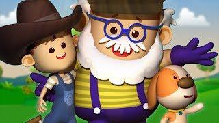 Old Macdonald Had A Farm | Little Eddie | Kindergarten Nursery Rhymes For Babies by Kids Tv