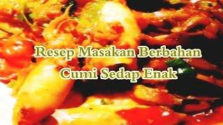 Resep Masakan Berbahan Cumi Sedap Enak