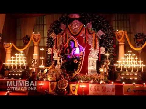 Navratri Utsav 2016 : 10,000 Diya's at GSB Sabha Dahisar-Borivali | Mumbai Attractions