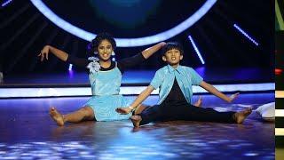 D4 Junior Vs Senior l Adhish & Ananya in a dream world I Mazhavil Manorama