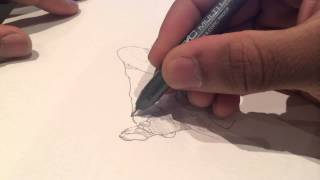 Damilolaartist ,Timelapse drawing, Contortion