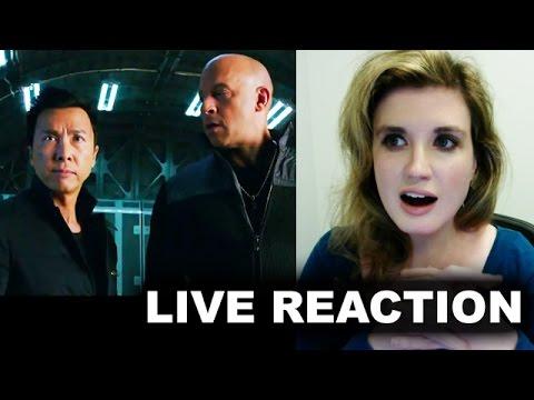 Xxx Mp4 XXX Return Of Xander Cage Trailer Reaction 3gp Sex