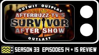 Survivor: Millennials vs Gen X Season 33 Episodes 14 & 15 Review & After Show | AfterBuzz TV