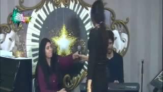 جلسة غنائية لابتسام تسكت وعبد السلام وشيرين في المسرح 23 12 2014