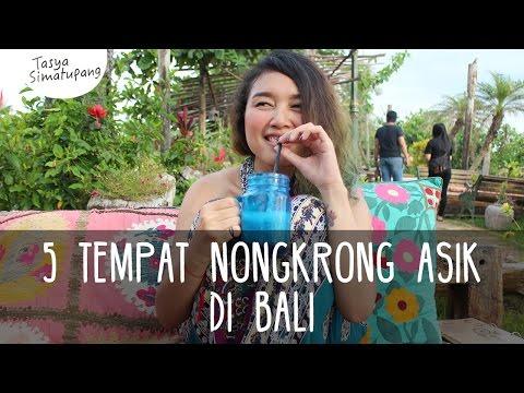 Vlog1 Mendadak Liburan 5 TEMPAT NONGKRONG ASIK DI BALI