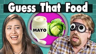 GUESS THAT FOOD CHALLENGE! #2   People Vs. Food