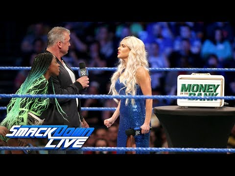 Xxx Mp4 Lana Demands To Be Added To Women S Money In The Bank Ladder Match SmackDown LIVE June 6 2017 3gp Sex