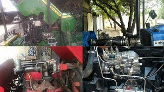 modified tractors & inline pump & rotary pump modified