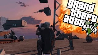 ZIEKE PARKOUR SKILLS! | GTA 5 Online Funny Moments