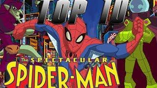 Top 10: Mejores Episodios de The Spectacular Spider-Man [HD]