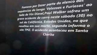 Paul Walker fatal face destruction (VIDEO)