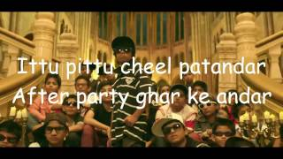 Party with bhootnath video with lyrics