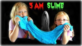 DO NOT MAKE A SLIME AT 3 AM !! SO SCARY!! - Magic Box Toys Collector
