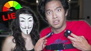 Hacker Girl Caught ME! LIE DETECTOR SECRET CRUSH!