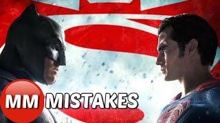 Batman vs Superman Dawn of Justice Movie MISTAKES You Missed | Batman vs Superman Movie