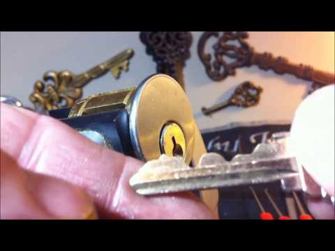 (176) 6 Pin challenge lock by