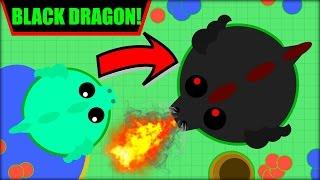 MOPE.IO BLACK DRAGON | 100000K SCORE BLACK DRAGON + ALL THE ANIMALS | MOPE.IO NEW UPDATE (Mope.io)