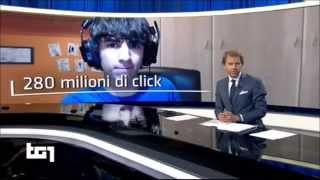 FAVIJ IN TV SUL TG1 [COMPLETO] - 26 OTTOBRE 2014 [HD]