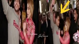 بالفيديو : معجب يضايق حليمة بولند وهي ترفع عليه دعوى