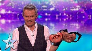Simon left speechless by ventriloquist act   Semi-Finals   BGT 2019