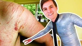 EXTREMELY PAINFUL DUCT TAPE CHALLENGE | Challenge Pete