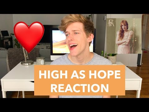 [REACTION] HIGH AS HOPE ALBUM   Florence + The Machine