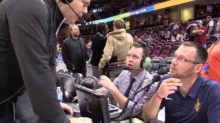 Meet Sean Peebles the new PA announcer at Cavs games