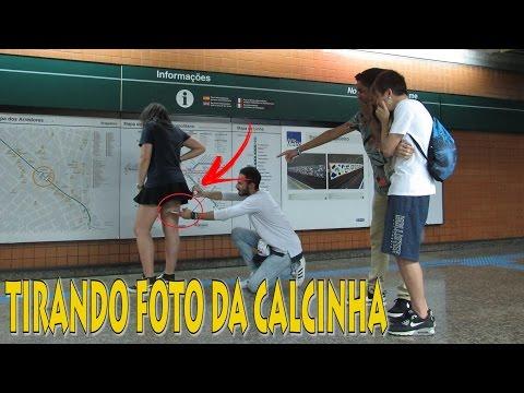 TIRANDO FOTO POR BAIXO DA SAIA DESAFIO 8
