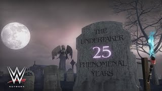 WWE Network: Undertaker: 25 Phenomenal Years highlights The Phenom's intimidating entrances