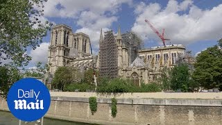 Building work restarts at Notre Dame after lead contamination fears