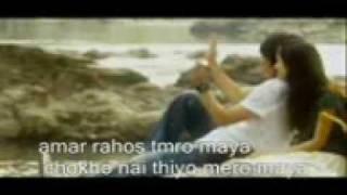 nepali song : ashu mero: my tears.3gp