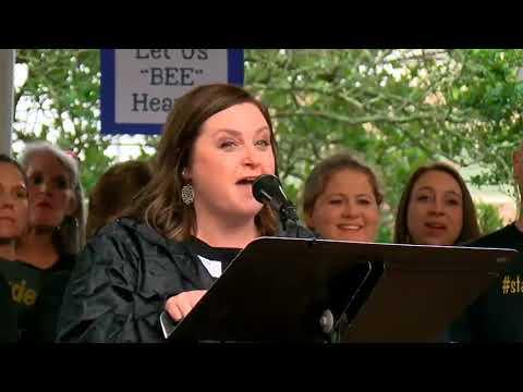 Xxx Mp4 Deyshia Hargrave Speaks At Teacher Rally Following Her Arrest At A School Board Meeting 3gp Sex