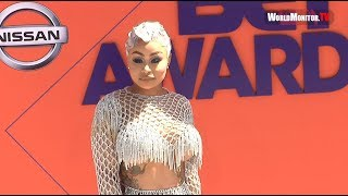 Blac Chyna arrives at 2018 BET Awards Red carpet