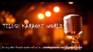 Em Cheppanu Karaoke    Nenu Sailaja    Telugu Karaoke World   