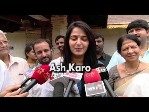 Xxx Mp4 Bahubali 2 Anushka Shetty Visited Mangalore Temple Speaking In Kannada 3gp Sex