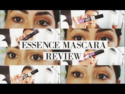 5 MASCARAS Essence Mascaras Review & Comparisons