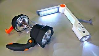 8 Survival Hand Crank Flashlights