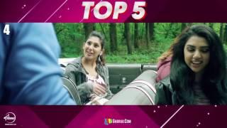 Top 5 Punjabi Songs 2017 | Speed Records