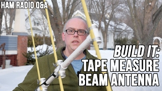 Tape Measure Yagi Beam Antenna - Ham Radio Q&A