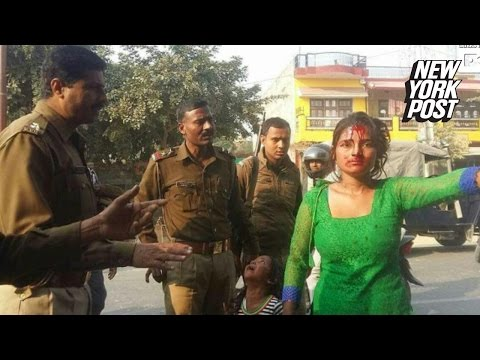 Xxx Mp4 Indian Woman Brutally Beaten By Mob Of Men After Resisting A Groping Creep 3gp Sex
