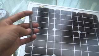 Năng lượng mặt trời-Phần 30-Bộ Quạt Năng lượng mặt trời 30W